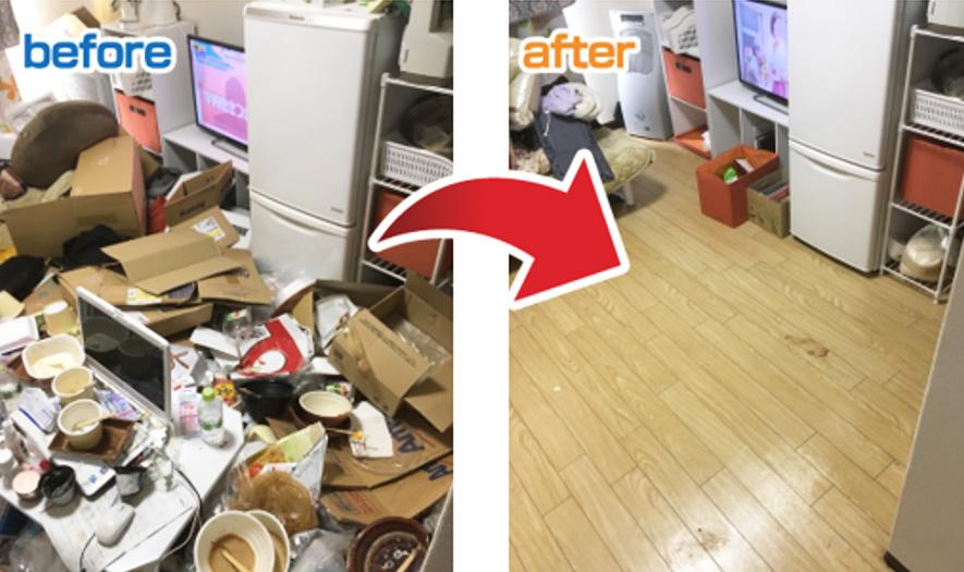 ゴミ屋敷片付け・清掃